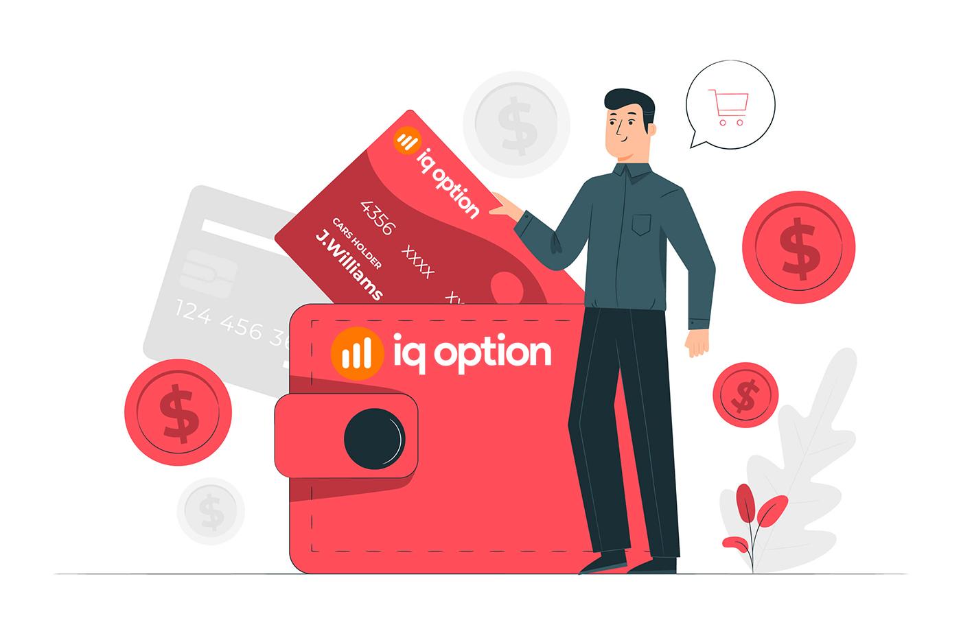 IQ Option에서 계좌를 개설하고 돈을 인출하는 방법